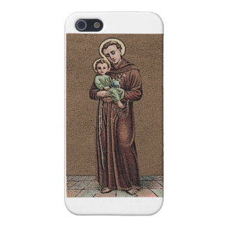 St. Anthony & Baby Jesus iPhone 5 Cases