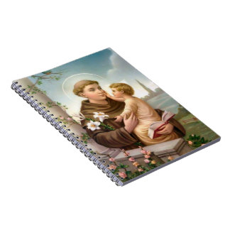 St. Anthony  & Child Jesus Notebook