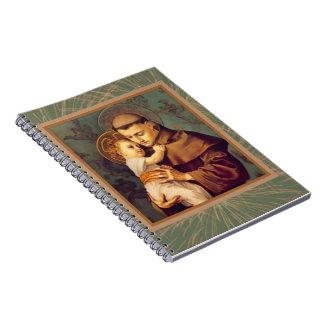 St. Anthony  & Child Jesus Notebooks