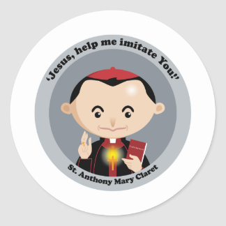 St. Anthony Mary Claret Classic Round Sticker