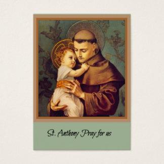 St. Anthony of Padua Baby Jesus Business Card