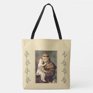 St. Anthony of Padua Baby Jesus Tote Bag