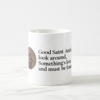 St. Anthony Prayer Coffee Mug