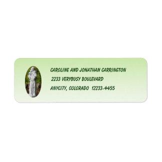 St. Anthony Return Address Label