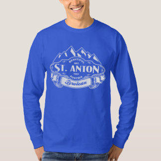 St. Anton Mountain Emblem White T-Shirt
