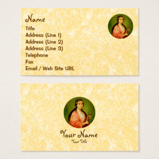 St. Apollonia (BLA 001) Business Card