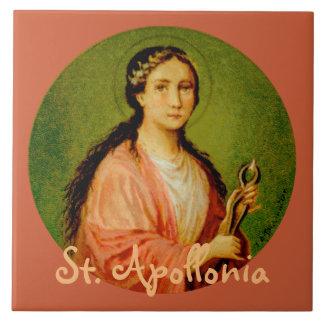 St. Apollonia (BLA 001) Ceramic Tile #1