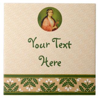 St. Apollonia (BLA 001) Ceramic Tile #3