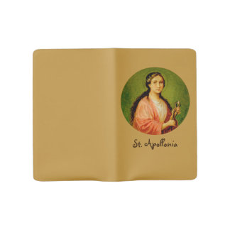 St. Apollonia (BLA 001) Large Moleskine Notebook