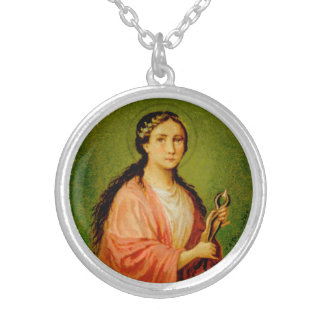 St. Apollonia (BLA 001) Silver Plated Necklace