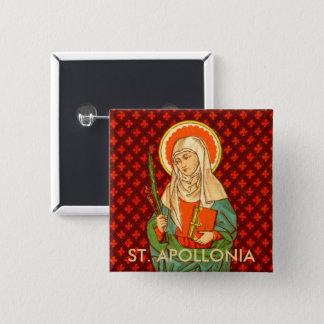 St. Apollonia (VVP 001) 15 Cm Square Badge