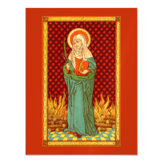 """St. Apollonia (VVP 001) 4.25""""x5.6"""" Magnetic Card"""