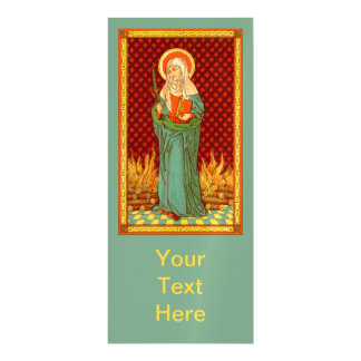 """St. Apollonia (VVP 001) 4""""x9"""" Magnetic Card"""