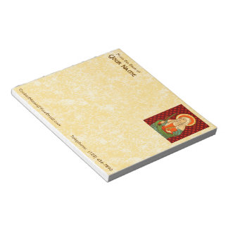 "St. Apollonia (VVP 001) 5.5""x6"" Horizontal Notepad"