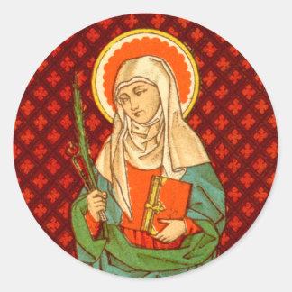St. Apollonia (VVP 001) Classic Round Sticker