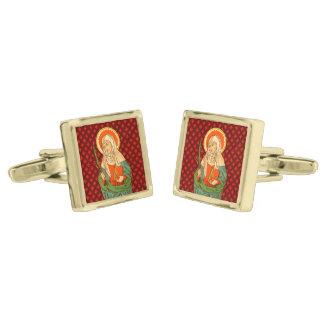 St. Apollonia (VVP 001) Gold Finish Cufflinks