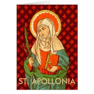 St. Apollonia (VVP 001) Greeting Card #1