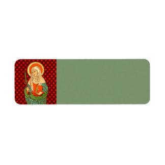 St. Apollonia (VVP 001) Return Address Label