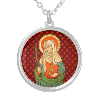 St. Apollonia (VVP 001) Silver Plated Necklace