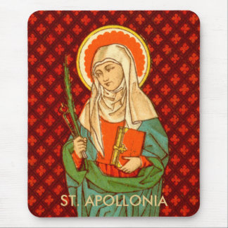 St. Apollonia (VVP 001) (Style #1) Mouse Pad