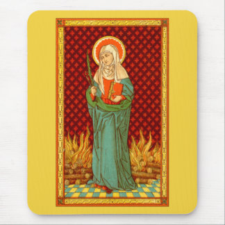 St. Apollonia (VVP 001) (Style #2) Mouse Pad