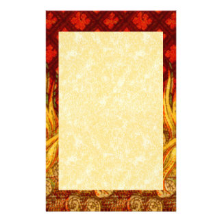 "St. Apollonia's Flames (VVP 01) 5.5""x8.5"" Vert #2b Stationery"