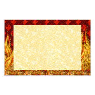 "St. Apollonia's Flames (VVP 01) 8.5""x5.5"" Hor #2b Stationery"