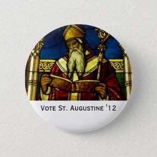 St. Augustine '12 6 Cm Round Badge