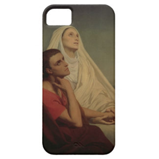 St. Augustine and his mother St. Monica, 1855 iPhone 5 Covers
