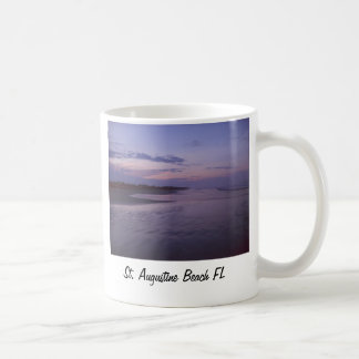 St. Augustine Beach FL Coffee Mug