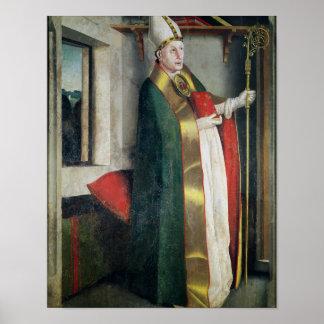 St. Augustine  c.1435 Poster