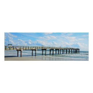 St. Augustine Fishing Pier Poster