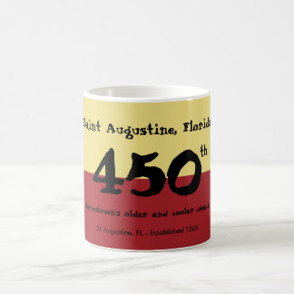St. Augustine, Florida - 450th - older & cooler Coffee Mug