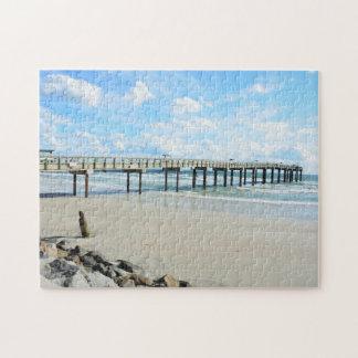 St. Augustine, Florida Fishing Pier Jigsaw Puzzle