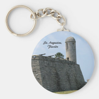St. Augustine Florida fort castillo de san marcos Basic Round Button Key Ring