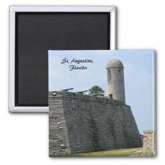 St. Augustine Florida fort castillo de san marcos Magnet
