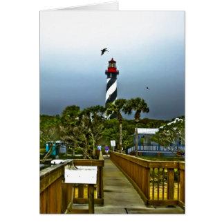 St. Augustine, Florida Lighthouse Card