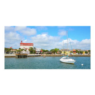 St. Augustine, Florida Riverfront Customised Photo Card