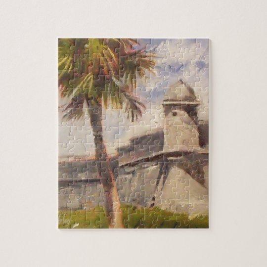 St. Augustine Fort - Castillo de san Marcos Jigsaw Puzzle