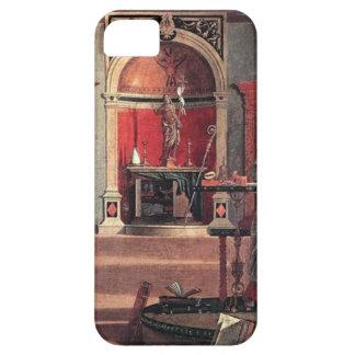 St. Augustine in His Study - Vittore Carpaccio iPhone 5 Case