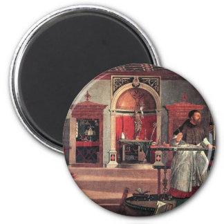 St. Augustine in His Study - Vittore Carpaccio Magnet