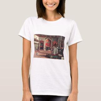 St. Augustine in His Study - Vittore Carpaccio T-Shirt