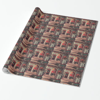 St. Augustine in His Study - Vittore Carpaccio Wrapping Paper