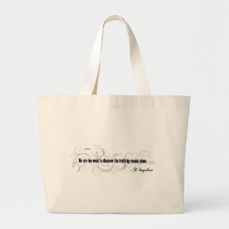 St. Augustine Large Tote Bag