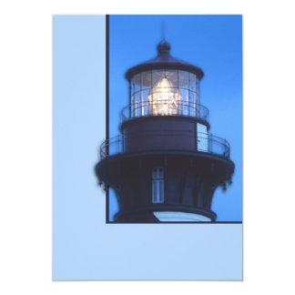 St Augustine Lighthouse 13 Cm X 18 Cm Invitation Card