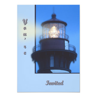 "St Augustine Lighthouse 5"" X 7"" Invitation Card"