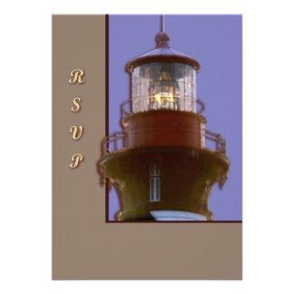 St Augustine Lighthouse Personalized Invite