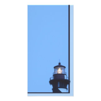 St Augustine Lighthouse Personalized Photo Card