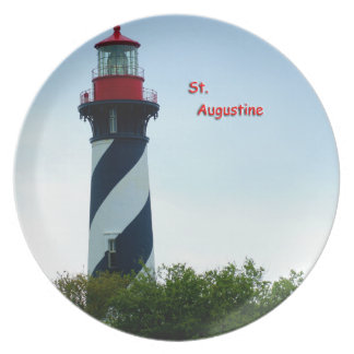 St Augustine Lighthouse Plate
