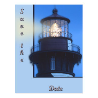 St Augustine Lighthouse Post Card